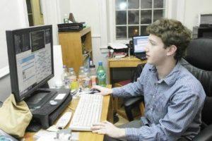 Mark Zuckerberg at High school