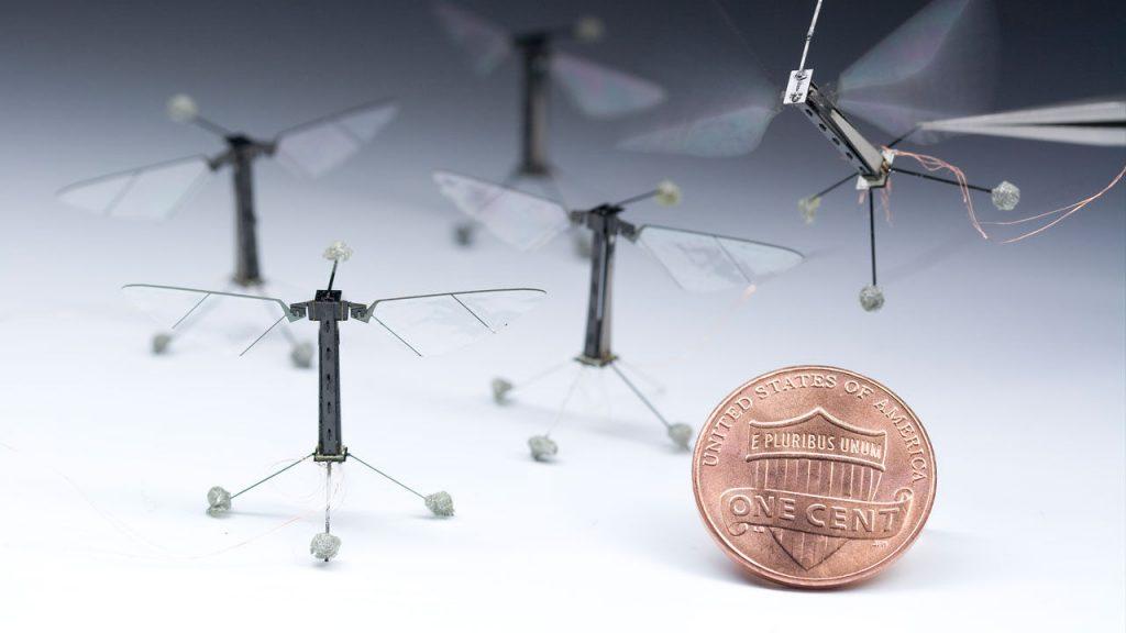 crop pollination robots