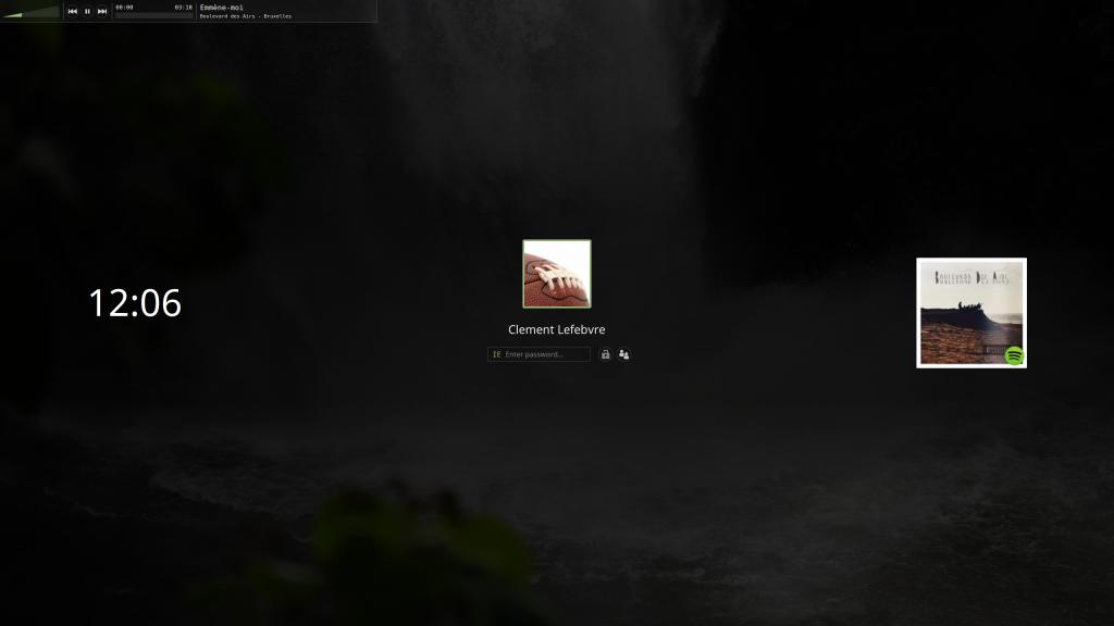 The new Cinnamon 3.2 screensaver