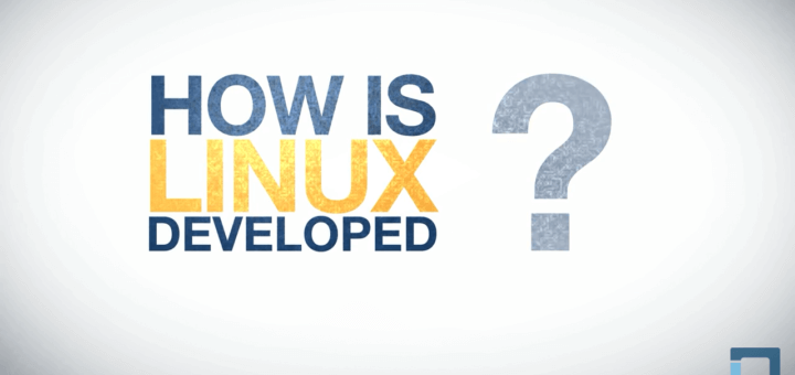 how is linux developed