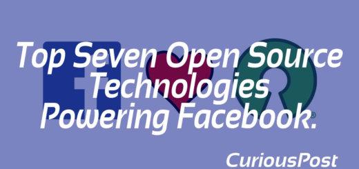 facebook open source technologies