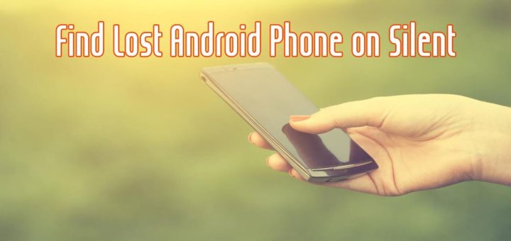 find lost android phone