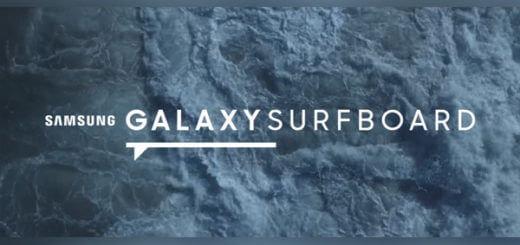 galaxy surf board