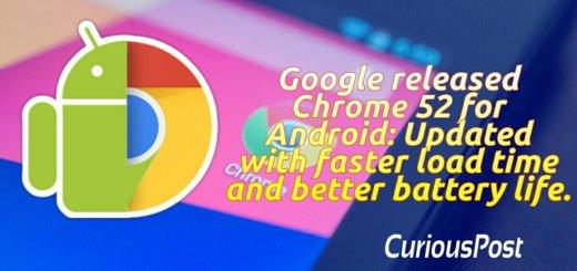 google chrome 52