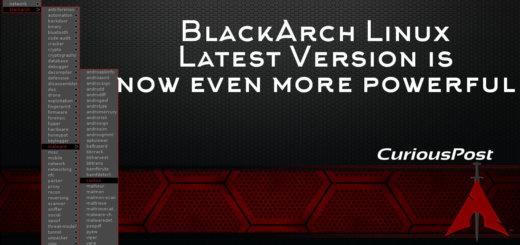 BlackArch Linux 2017