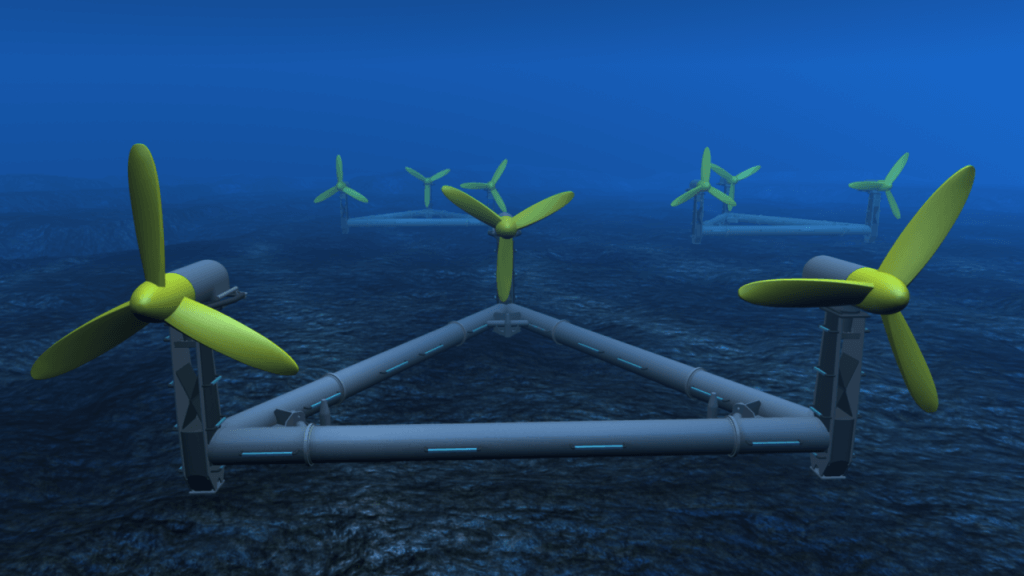 how tidal energy works