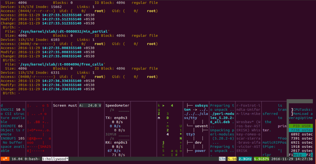 Hollywood linux tool 1