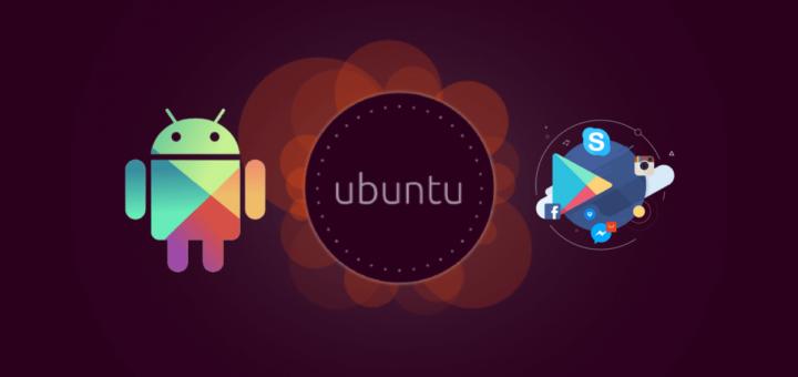 Anbox in Ubuntu Phone