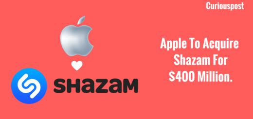 Apple Shazam Acquisition
