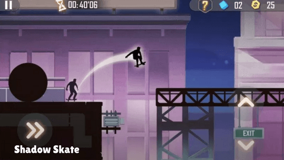 Shadow Skate Low MB Android game