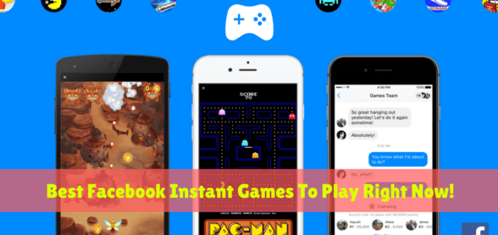 Best Facebook Instant Games!