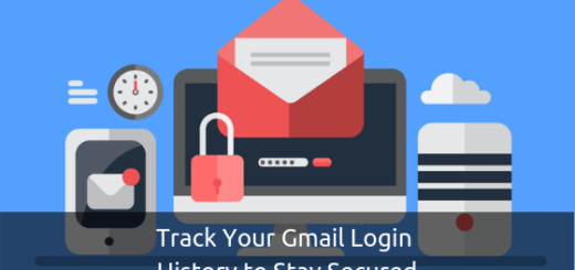 Gmail login history