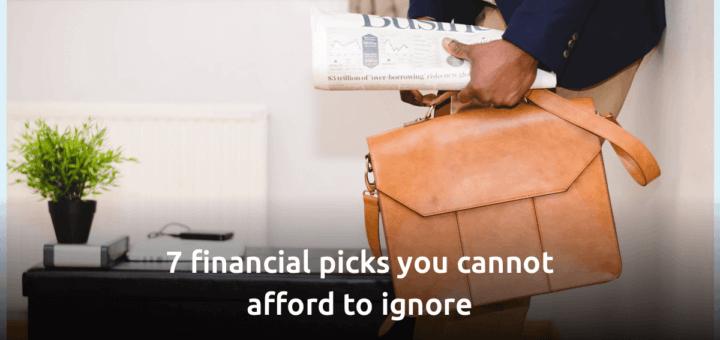 financial picks
